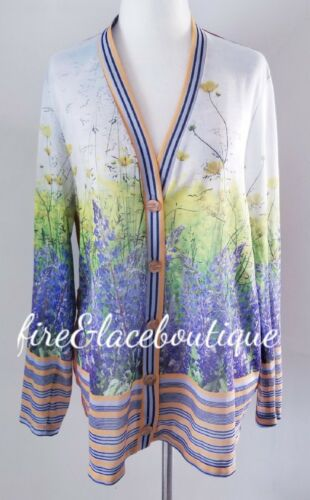 ANTHROPOLOGIE DREAM DAILY LILAC FANTASY CARDIGAN S