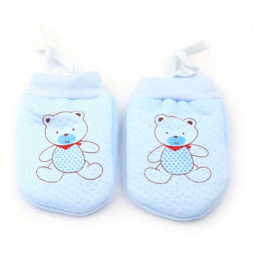 Cute Baby Infant Boys Girls Anti Mittens Soft Newborn Baby Gloves LY