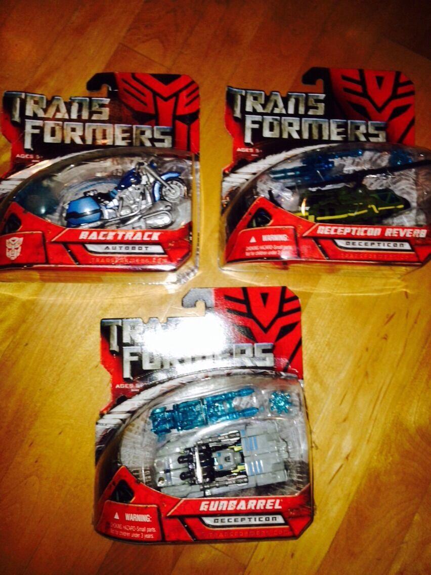 Transformers non rilasciato Obiettivo Scout gunbarrel riverbero Backtrack NUOVA SUPER RARA