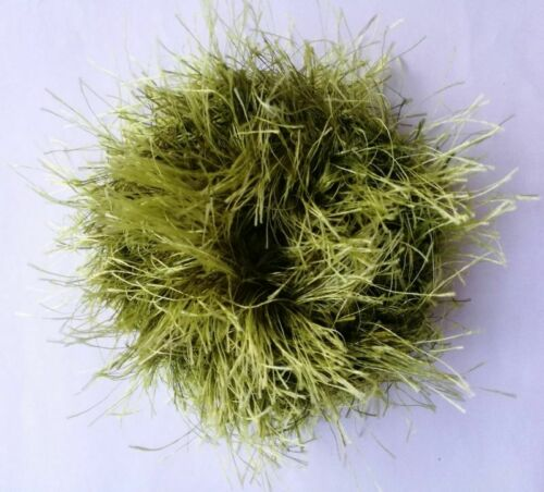 Faux Fur Crochet Scrunchies Chunky Bulky Elastic Hair Bands Ponytail Holder New