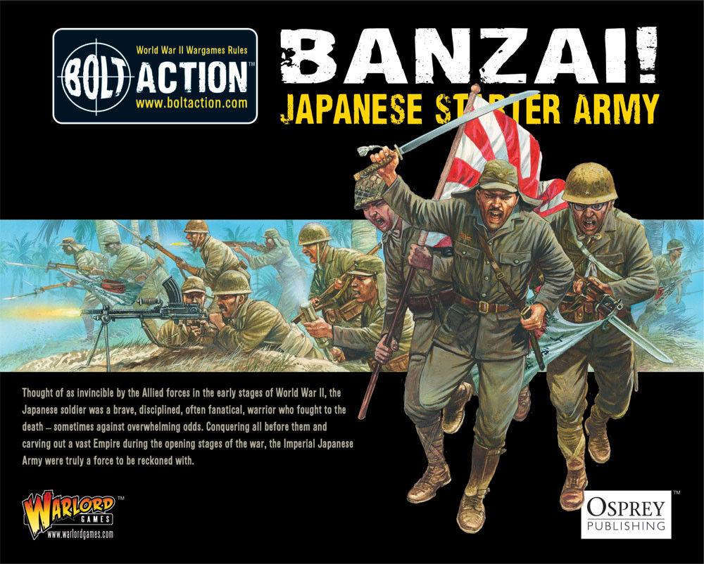 Bolt Action BNIB Banzai  Japanese Starter Army WGB-START-08 WGB-START-08 WGB-START-08 cf888a