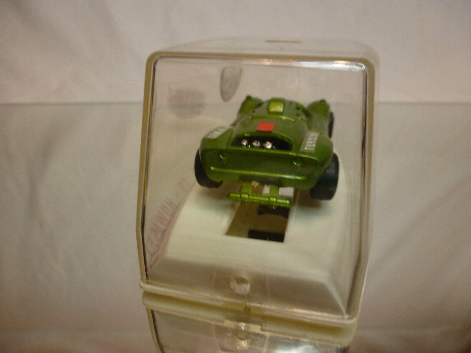 POLITOYS M10 HOWMET TX TURBINA - - - verde METALLIC 1 43 - VERY GOOD IN BOX 7ccaf2