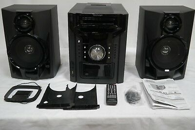 Read Sharp CD-DH950P Home Theater System AS-IS