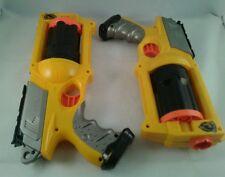 2X NERF N STRIKE MAVERICK REV 6 GUN With Ammo