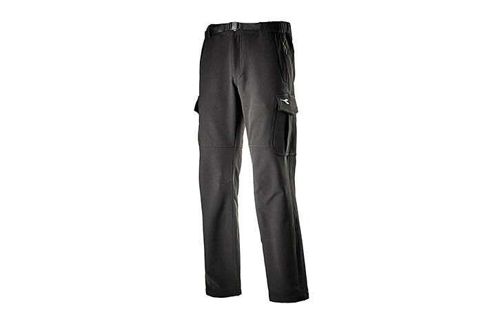 Pantaloni Diadora Utility Cargo Trail da lavgold invernale tessuto tecnico tg L