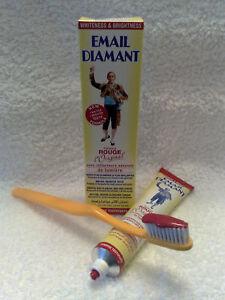 Email-Diamant-Rouge-Original-Produits-de-Beaute-Dentifrice-Neuf-75ml-Grande