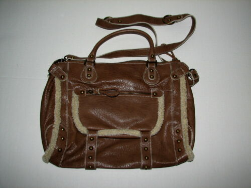 Purse Trim Handbag Tasche Madden Bag 14 Steve Handtasche 'wool' Brown H0RWInv1