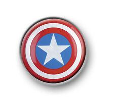 "CAPTAIN AMERICA 1"" / 25mm / pin button / badge / film movie / Marvel / Avengers"