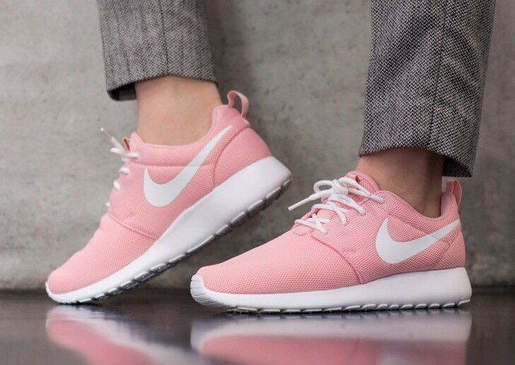 NIKE WMNS ROSHE ONE 511882-610 Sheen Pink White Size UK 4 EU 37.5 US 6.5 New