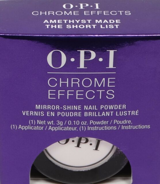 OPI CHROME EFFECTS *~AMETHIST MADE THE SHORT LIST *