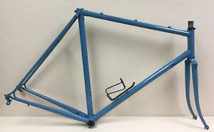 SANNINO-FRAME-AND-FORK-COLUMBUS-SLX-TUBING-CAMPAGNOLO-DROPOUTS-56-CM-126-SPACING
