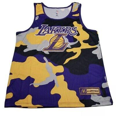 Los Angeles LA Lakers NBA Camouflage