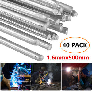 Solution Welding Flux-Cored Rods 20//40pcs Free shipping 1.6*500mm Wire Brazing