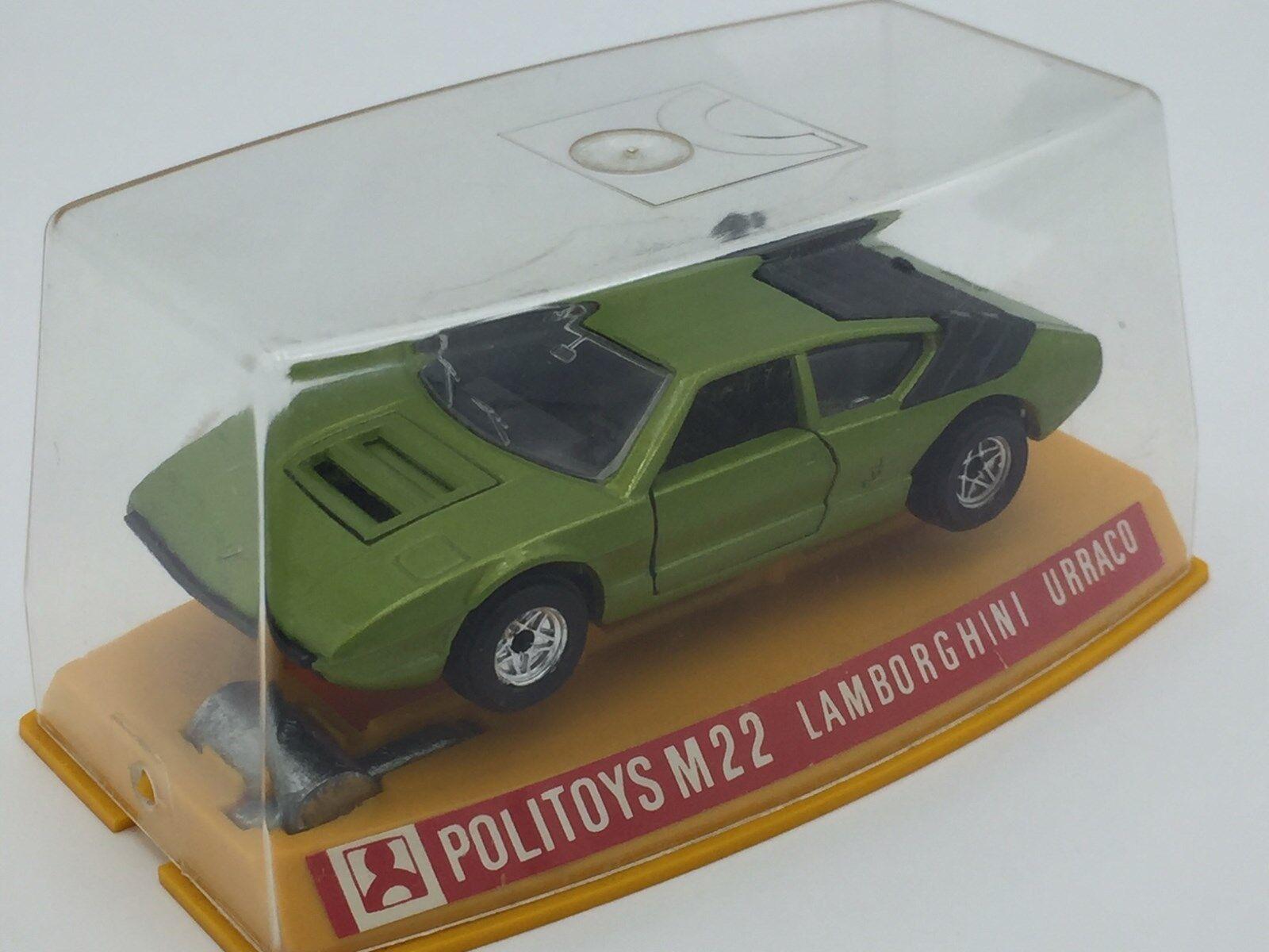 mejor oferta Lamborghini Urraco PoliJuguetes M22 1 43 43 43  suministramos lo mejor