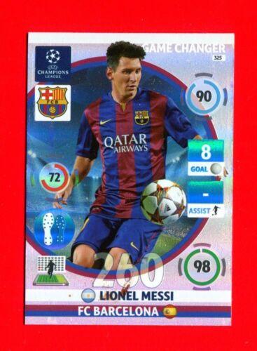 MESSI CHAMPIONS LEAGUE 2014-15 Panini Card Game Changer BARCELONA