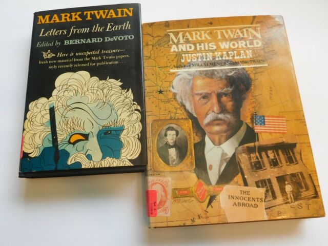 Letters From The Earth by Mark Twain (With images