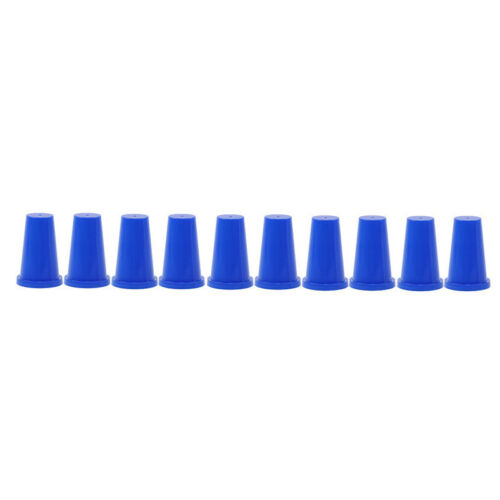 10Pcs Profession Magic Fingertip Finger Stall Thimble Magic Tricks Gimmick LD