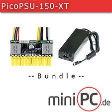 picoPSU-150-XT DC/DC (150 Watt) + AC/DC 120W Adapter