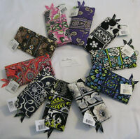 Vera Bradley Gallery Wallet Trifold Clutch Coin 4 Tote Purse Backpack Phone