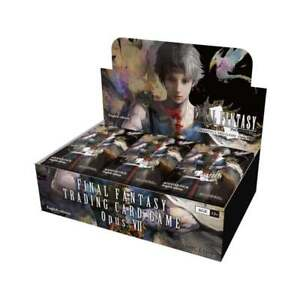 Final Fantasy TCG Opus VII Sealed Booster Box of 36 Packs - Trading Card Game 7 l1OlchCw-09161734-833591159