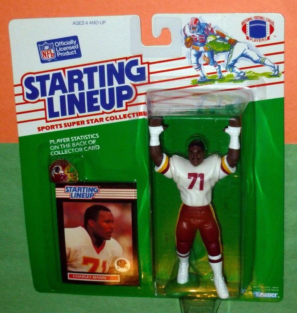 1989 CHARLES MANN Washington Redskins NM MINT Rookie  FREE s h Starting Lineup