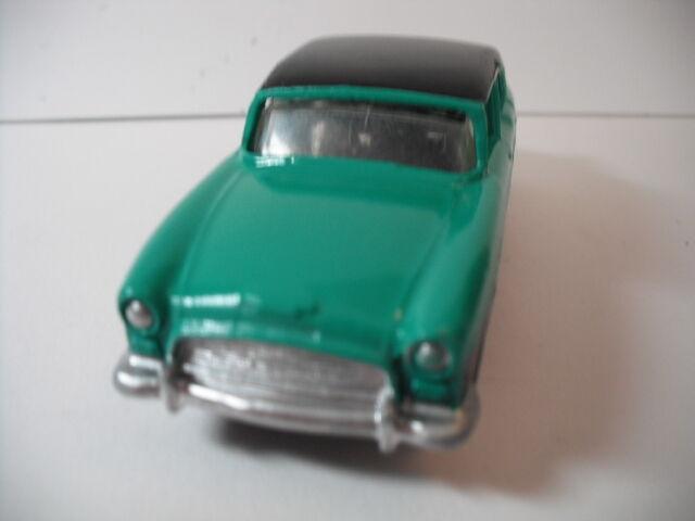 Vintage Vintage Vintage Dinky Toys  165 Humber Hawk Sedan Negro Turquesa restaurado como nuevo 3798d8