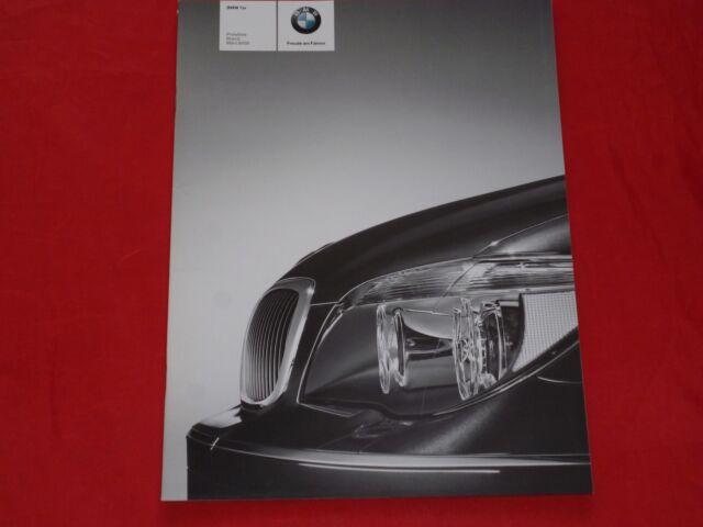 BMW 7er E65 730i 740i 750i 760i 730d 745d Preisliste von 2008