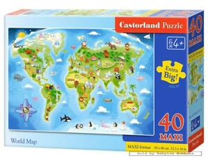 World map childrens puzzles puzzlewarehousecom world map 500 pcs jigsaw puzzle extra large pieces world map maps large world map jigsaw puzzle gumiabroncs Image collections