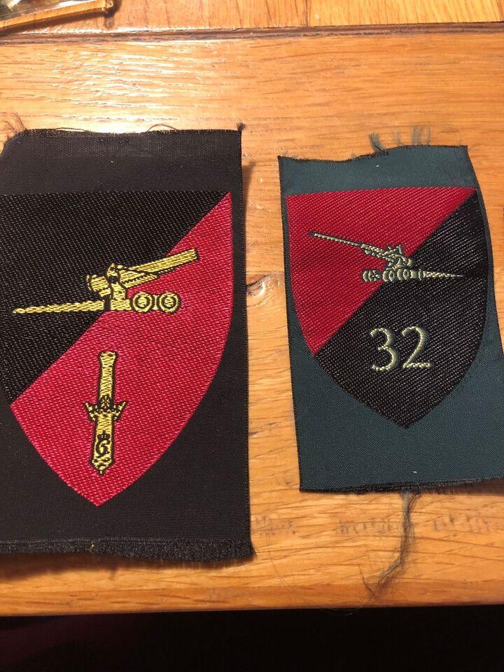 Badges, Militær uniforms mærker