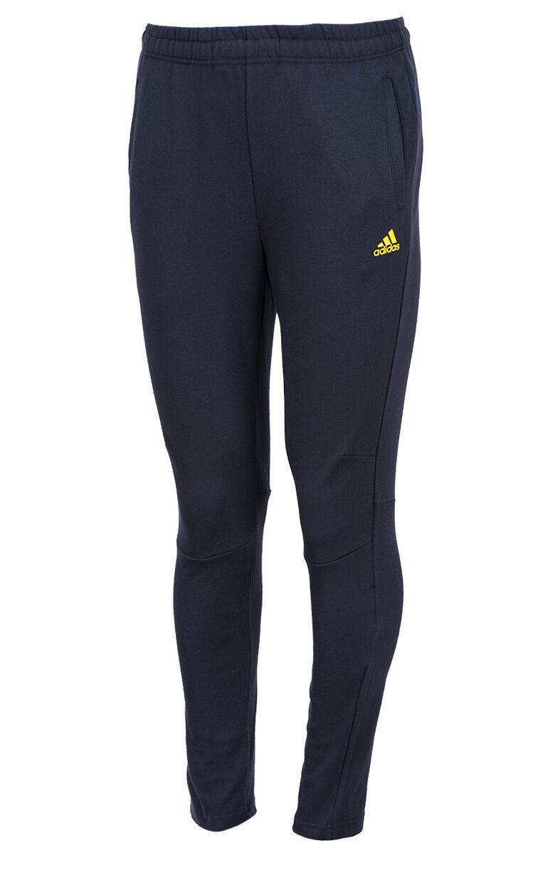 Pantalones Deportivos Entrenamiento Adidas L48282  Largo Pantalón Negro Slim  ventas en linea