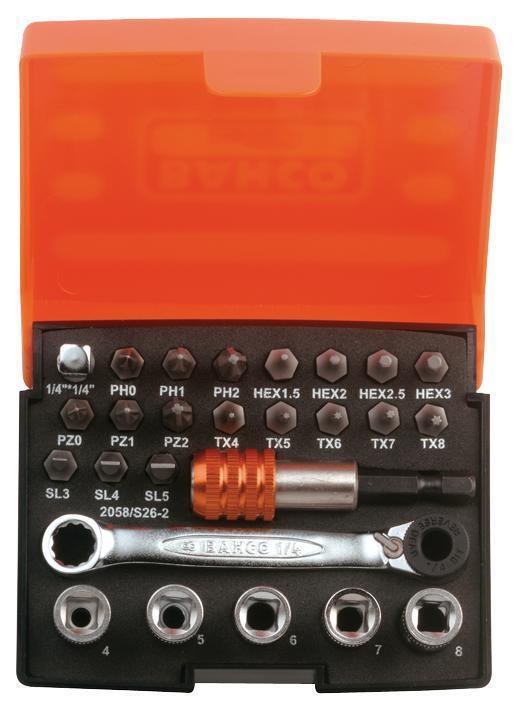 Cricchetto set di punte precisione - prese - attrezzi