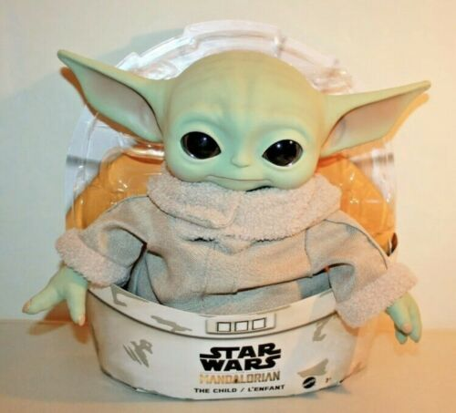 """Star Wars The Mandalorian 11/"""" Plush THE CHILD BABY YODA Mattel Official IN HAND"""