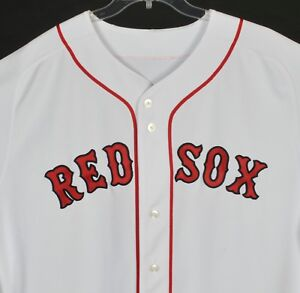 quality design 1d764 00596 Details about Boston Red Sox Majestic Sewn Home Jersey #34 David Ortiz Size  52 Made USA