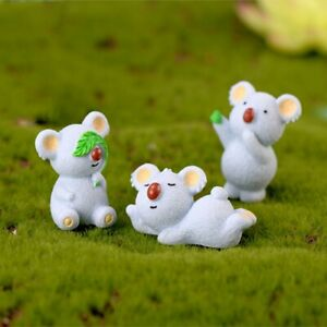 Statue-Resin-Craft-Animal-Decor-Home-Decorations-Figurines-Koala-Miniature-N