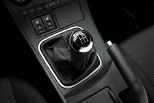 Genuine Mazda 3 2011-2013 Gear Lever Knob - Black Leather/Silver - BCW8-V8-170A
