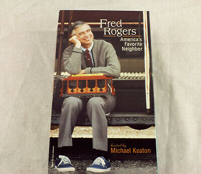 Fred Rogers Double Vhs Tapes Sealed New America S Favorite Neighbor 99399950317 Ebay