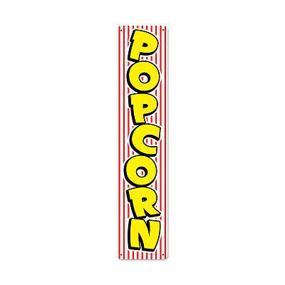 Popcorn Metal Schild 71cm Usa Cafe Food Bar Diner Pub Retro Kino Werbung Groß
