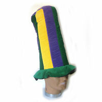 Giant Tall Mardi Gras Top Hat Party Funny Adult Costume Hat