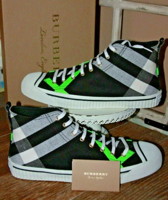Burberry Bourne Mid top sneakers black