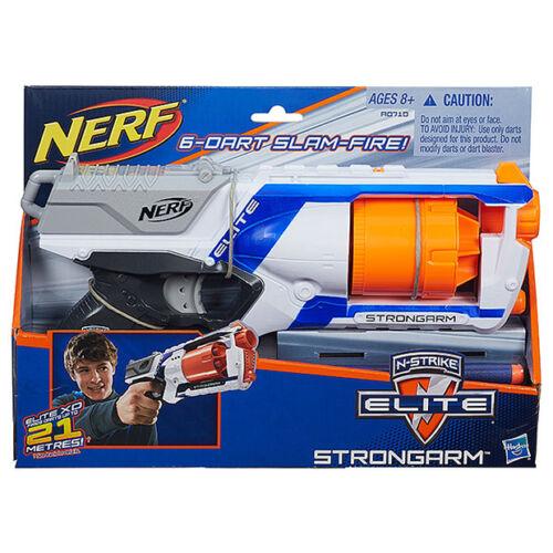 Brand New NERF Elite STRONGARM Dart BLASTER