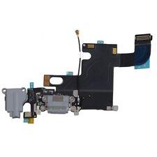 Black Headphone Audio Dock Connector Charging USB Port Flex Cable Gray iPhone 6
