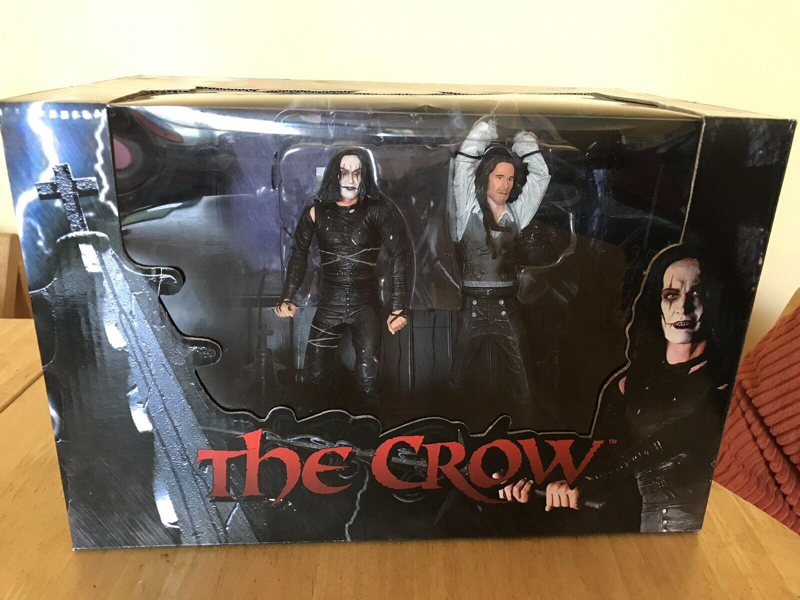 NECA NECA NECA The Crow  - Deluxe 2-Figure Diorama Boxset UNOPENED 4c132a
