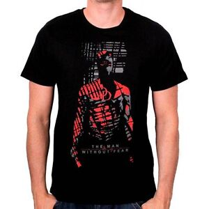 OFFICIAL-MARVEL-039-S-DAREDEVIL-039-THE-MAN-WITHOUT-FEAR-039-SHADOW-BLACK-T-SHIRT-NEW