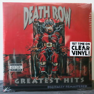 039-DEATH-ROW-GREATEST-HITS-039-Ltd-CLEAR-Vinyl-4LP-Dr-Dre-2Pac-Ice-Cube-Snoop-NEW