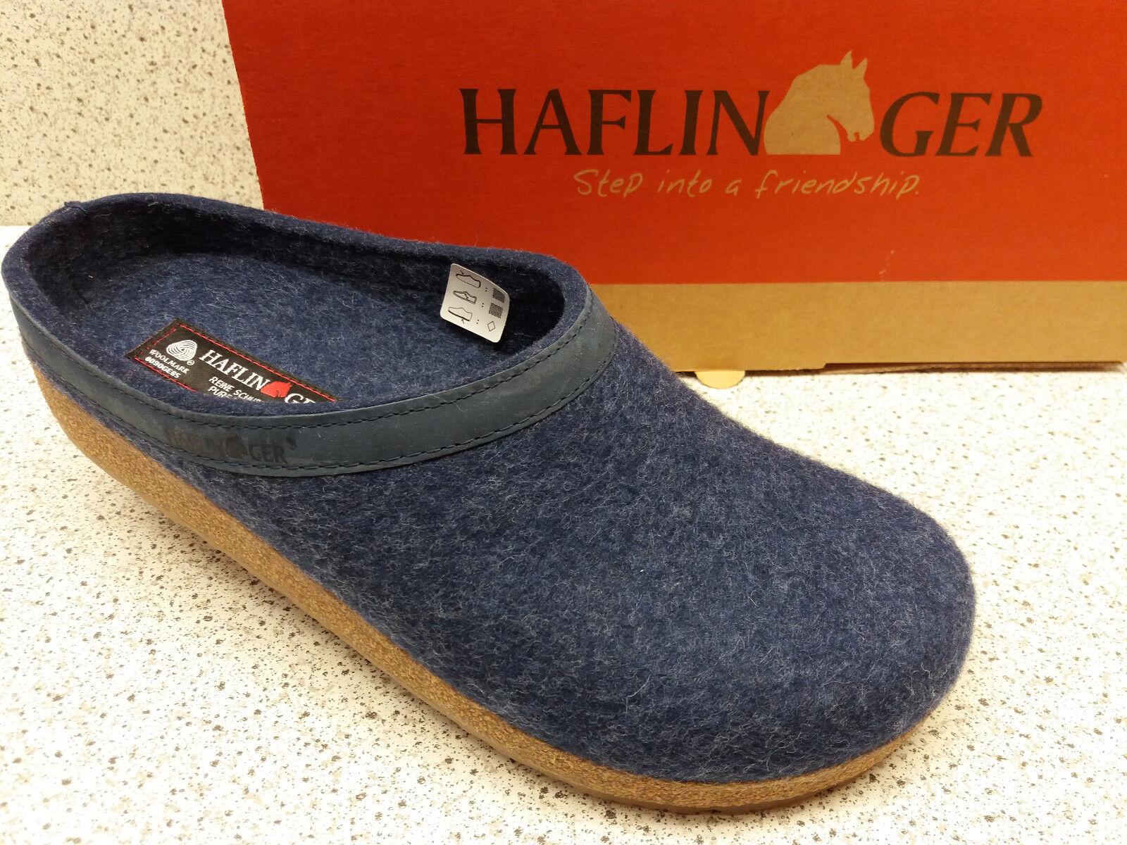 Haflinger ® rojouce, a partir de 49.   Grizzly torben  fieltro, azul (h2)