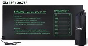 "Vivosun Durable Imperméable Seedling Heat Mat Chaud hydroponique Pad Chauffage 10/""..."
