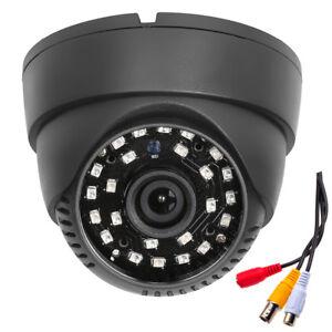 "Metal 700TVL 1//4/""CMOS 24IR 3.6mm Night Vision Dome Infrared CCTV Security Camera"