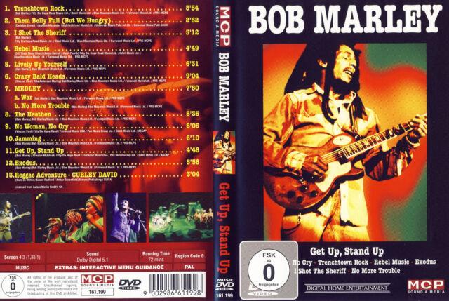 Bob Marley / Get Up,Stand Up - Live - DVD von 2006 - Neuwertig !