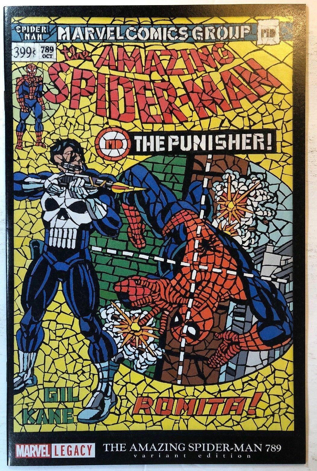 AMAZING SPIDER-MAN #789 ROSS LENTICULAR HOMAGE LEGACY VARIANT NM 1st Print