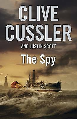 """AS NEW"" The Spy, Cussler, Clive, Book"